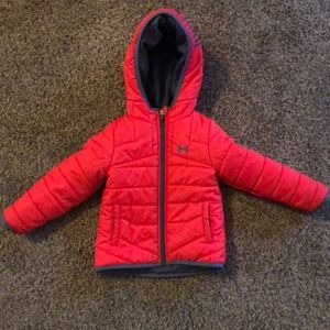 Under armor girls jacket
